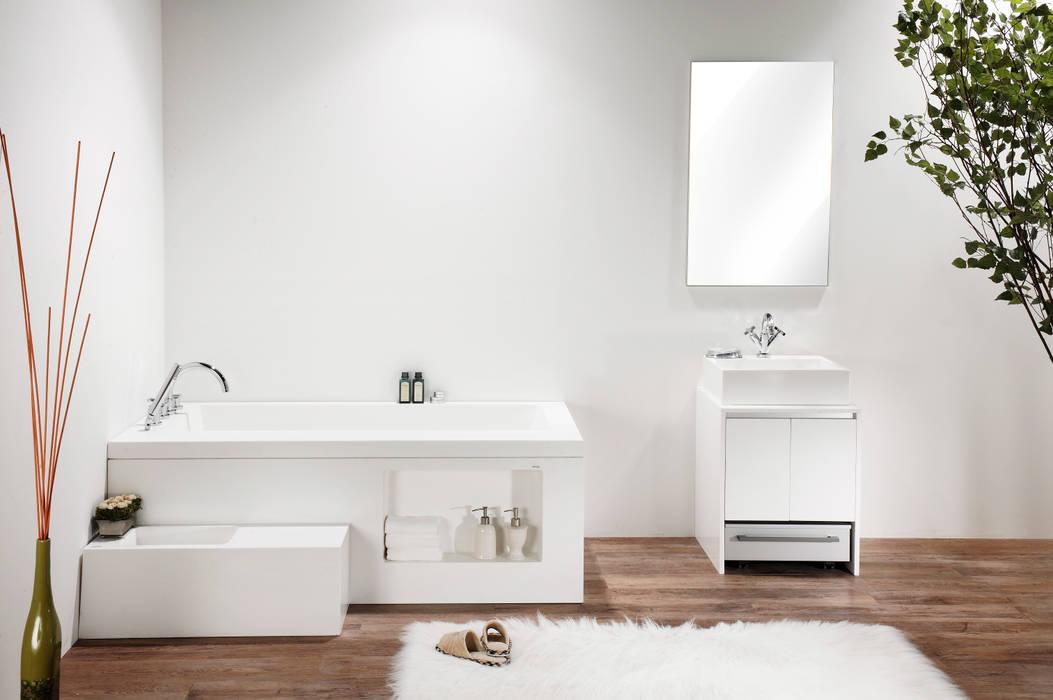 기능성 욕실 인테리어: Saturnbath의  욕실