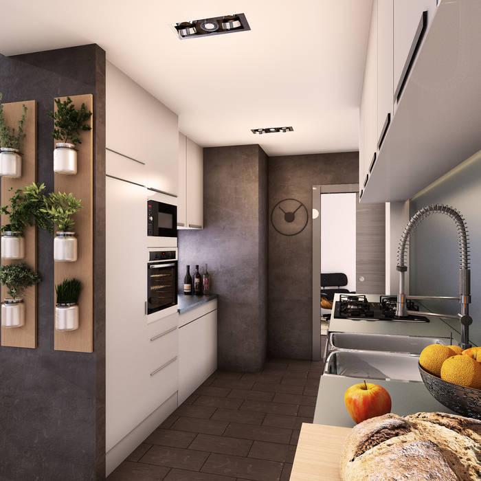 Minimalist kitchen by 2vsarq Minimalist