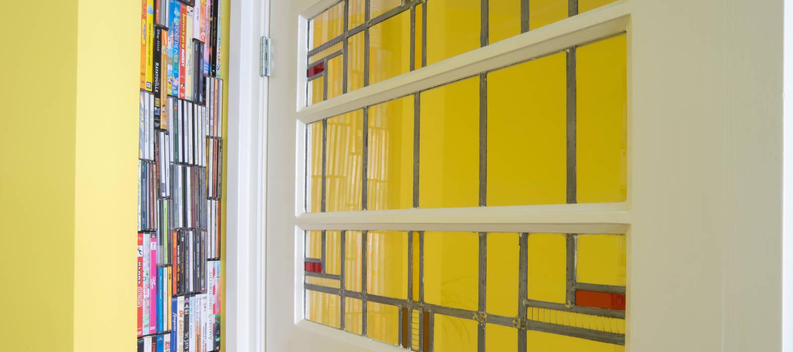 deur Moderne woonkamers van BALD architecture Modern