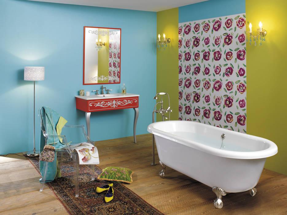 Ambiance salle de bain Julia: Salle de bains de style  par HORUS