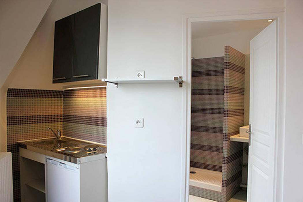 cuisine et salle de bain : Cuisine de style de style Moderne par monicacordova