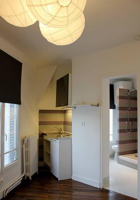 cuisine et salle de bain : Salle de bains de style  par monicacordova