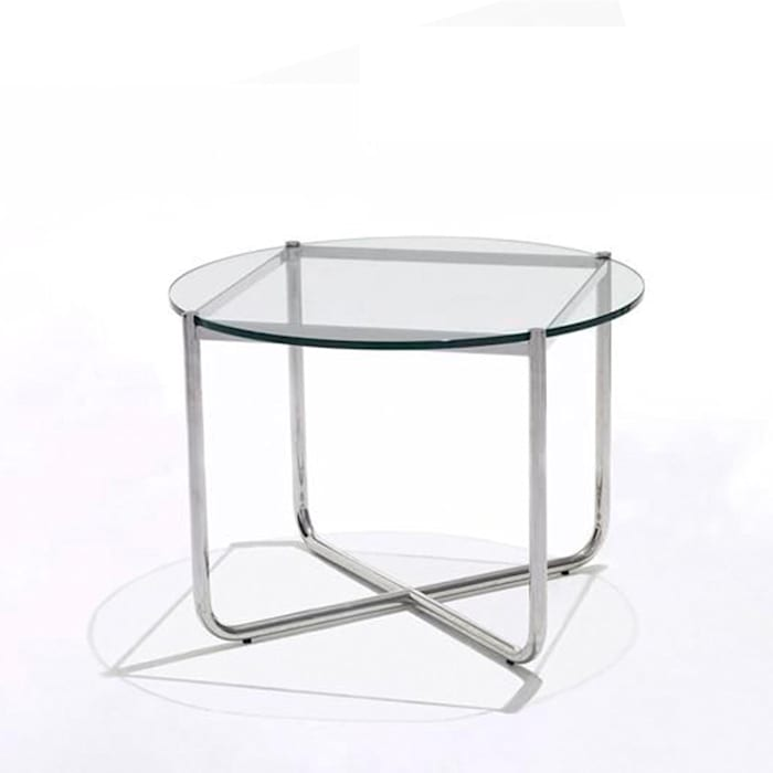 'Barcelona' modern occasional table BY L. M. Van der Rohe homify Living roomSide tables & trays