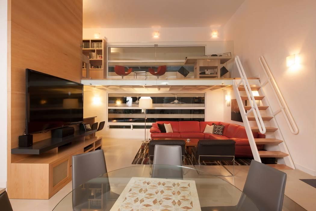 Ruang Studi/Kantor Modern Oleh PLADIS Modern