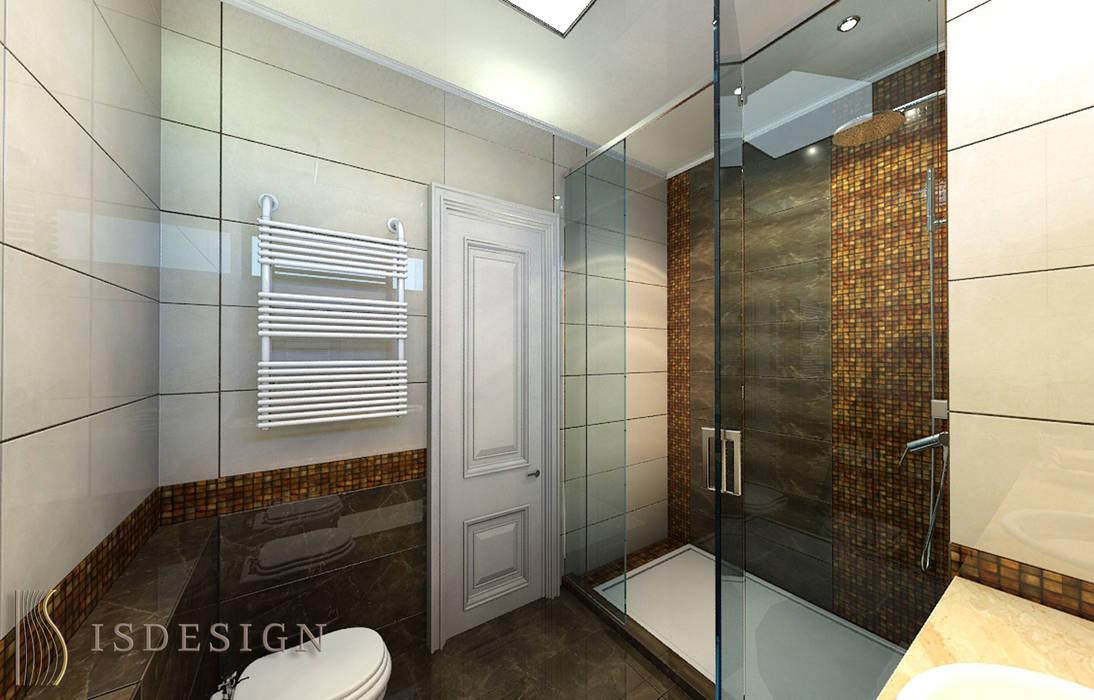 Душевая: Ванные комнаты в . Автор – ISDesign group s.r.o.