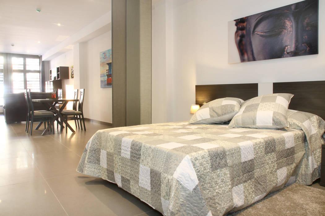 Dormitorio adaptado de Mohedano Estudio de Arquitectura S.L.P. Moderno