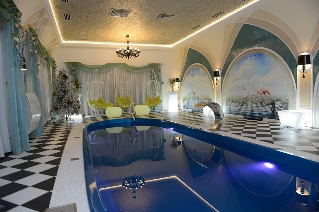 The House in Wonderland Бассейн в классическом стиле от udesign Классический