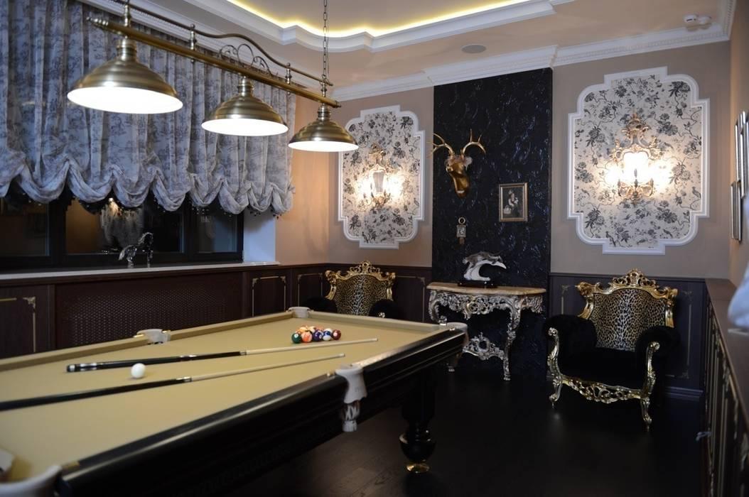 The House in Wonderland udesign Медиа комната в классическом стиле