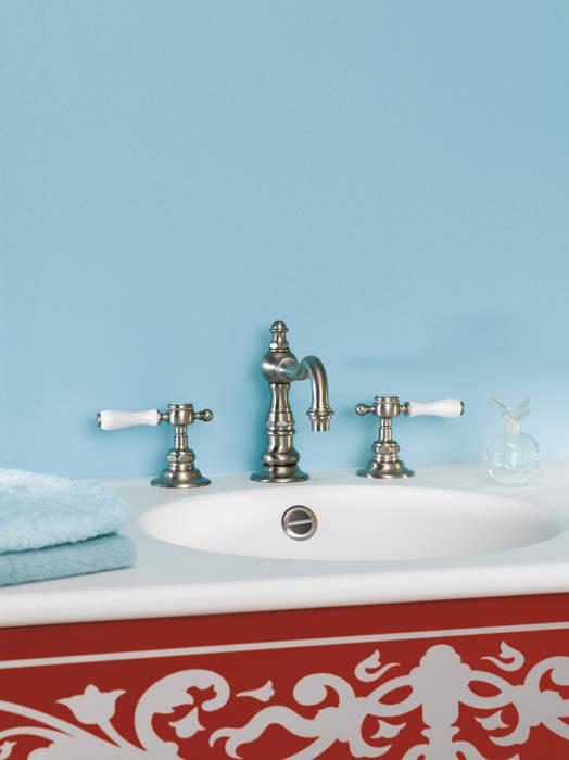 Mélangeur 3 trous lavabo Victoria: Salle de bains de style  par HORUS