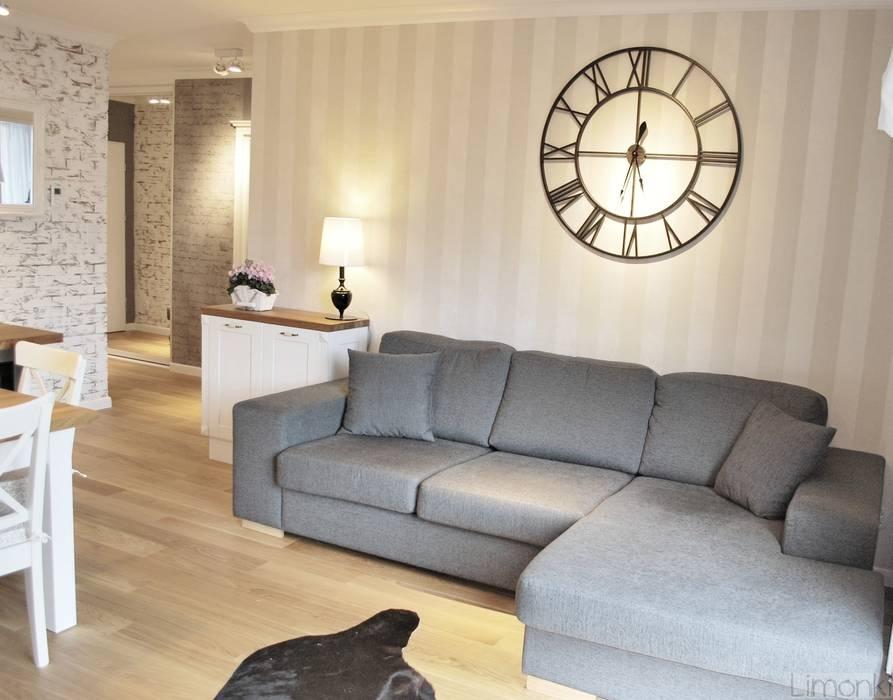 Mieszkanie w stylu klasycznym: styl , w kategorii Salon zaprojektowany przez Limonki Studio Wojciech Siudowski,Klasyczny