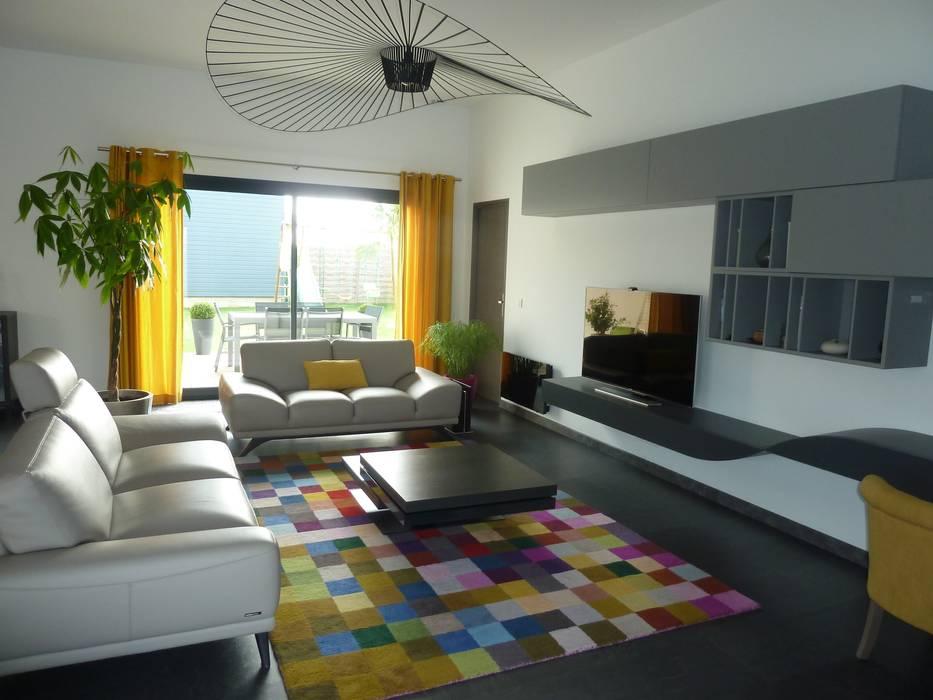 Après: l'espace salon par Parisdinterieur Moderne