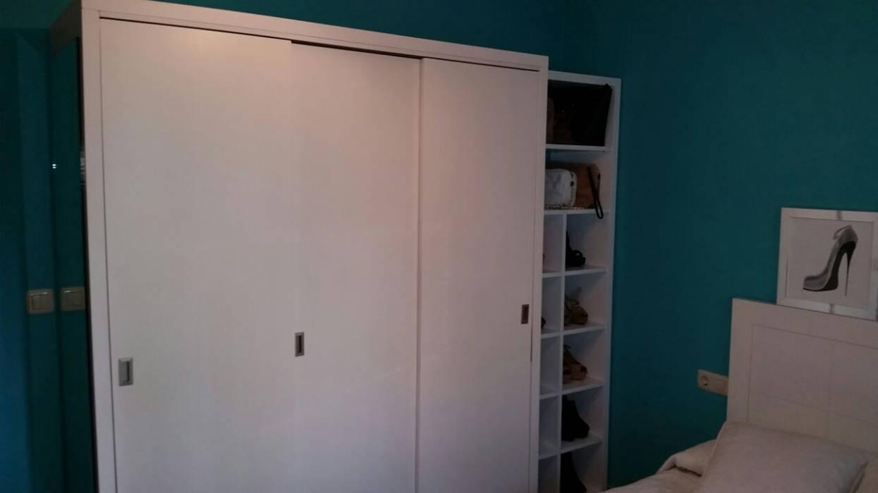 Armario moderno lacado en blanco dormitorios de estilo de - Armarios lacados en blanco ...