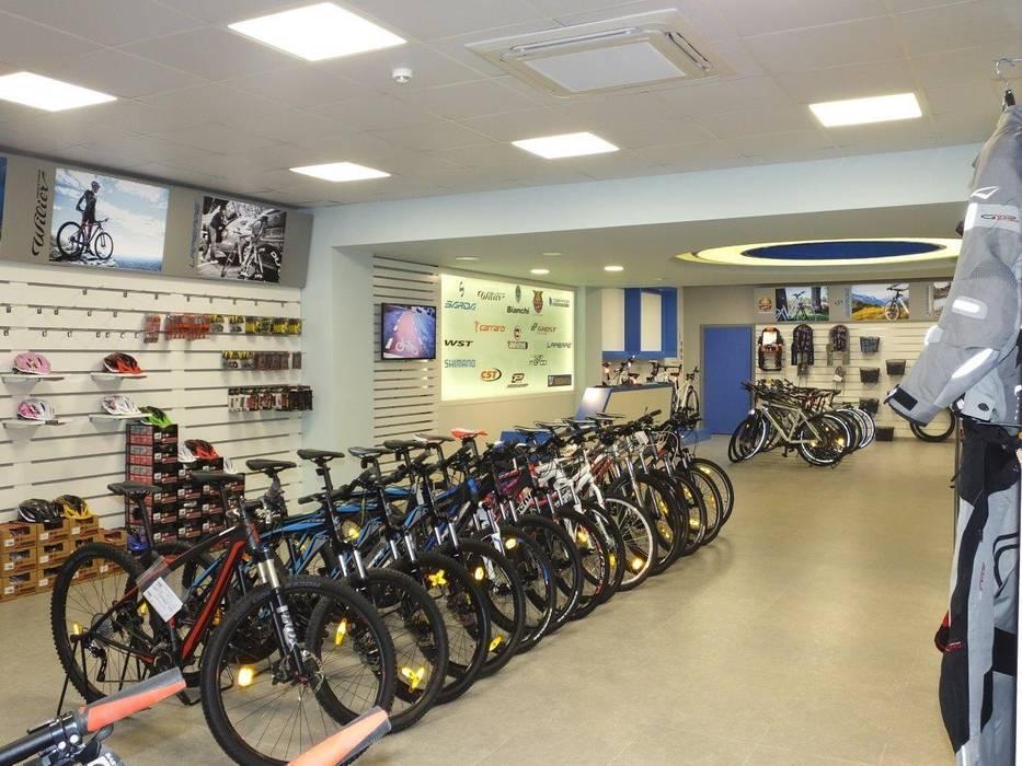 Sarda Bisiklet Fabrika Satış Mağazası Darya Mimarlık Proje Hizmetleri İnş.Sa.Tic.Ltd.Şti. Modern