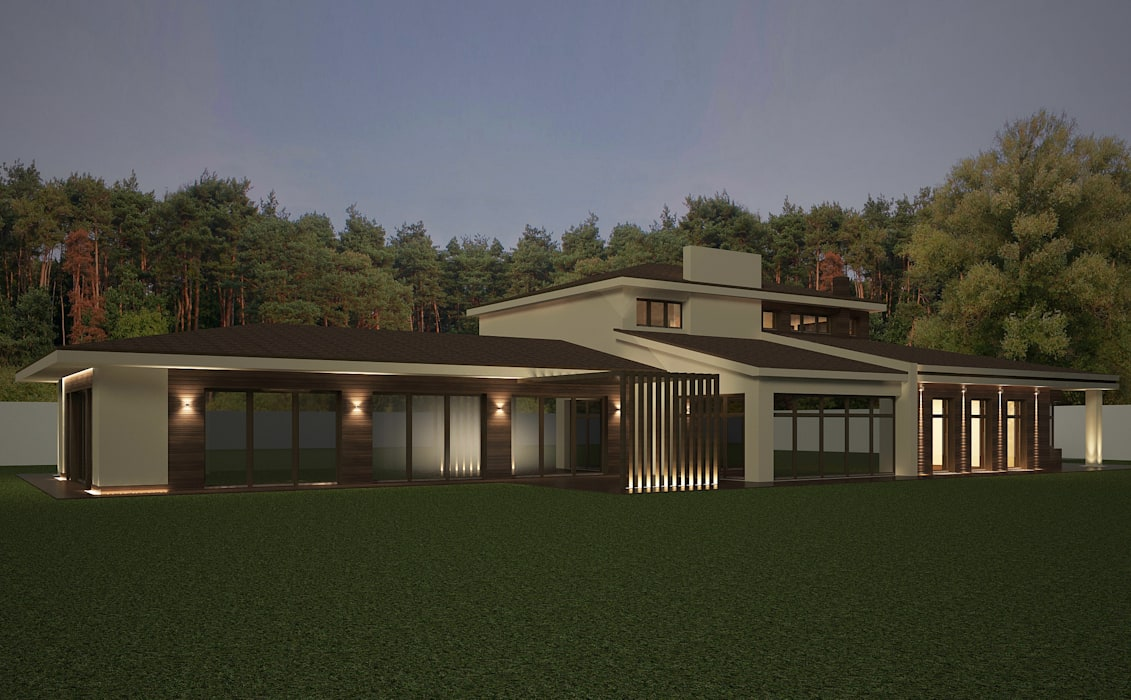 Houses by Дизайн - студия Пейковых, Minimalist