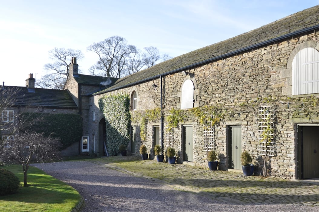 BIRCHENCLIFFE FARM Casas de estilo rural de E2 Architecture + Interiors Rural