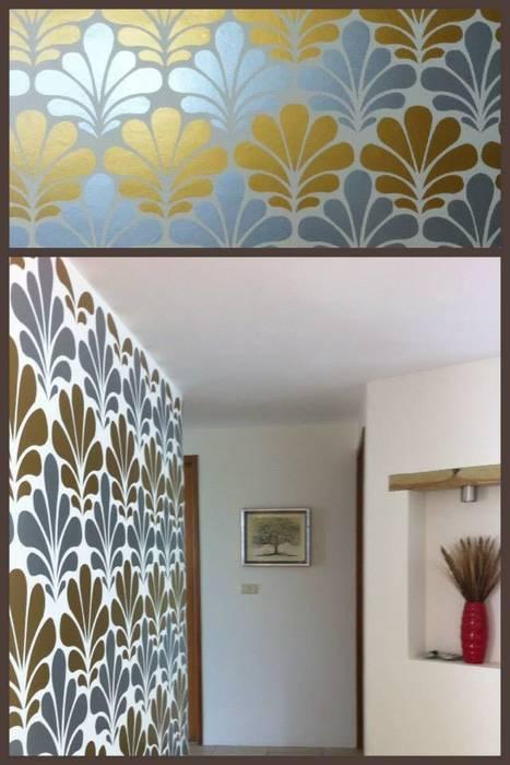 vinil papel tapiz de Arándano Decoraciòn Moderno