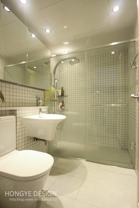 홍예디자인 Moderne Badezimmer