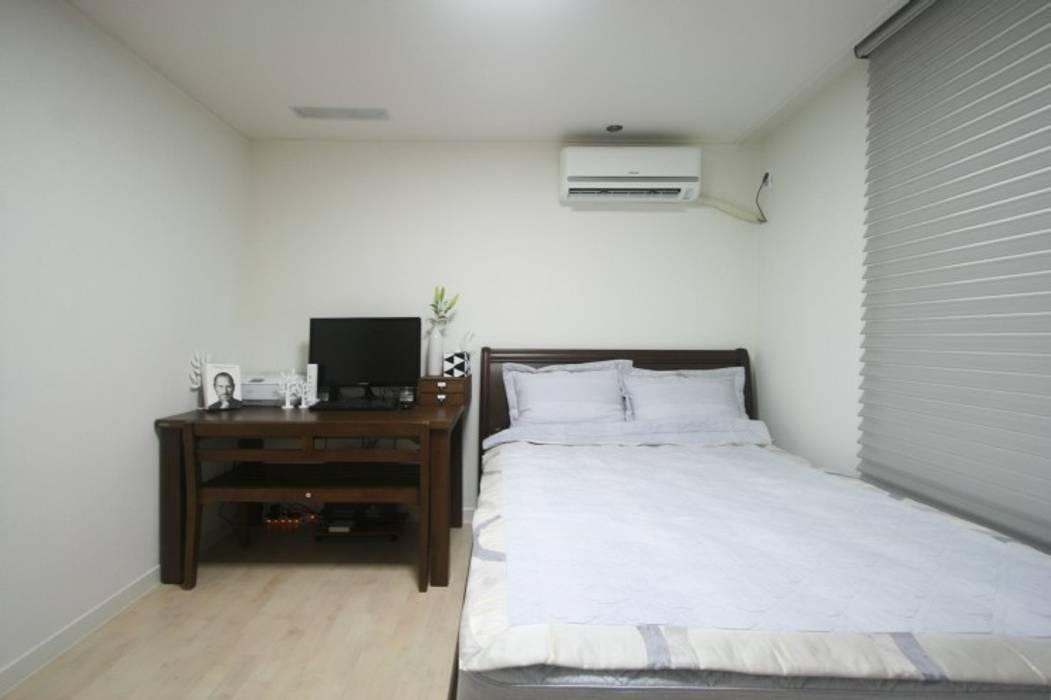 부부의침실 모던스타일 침실 by 홍예디자인 모던