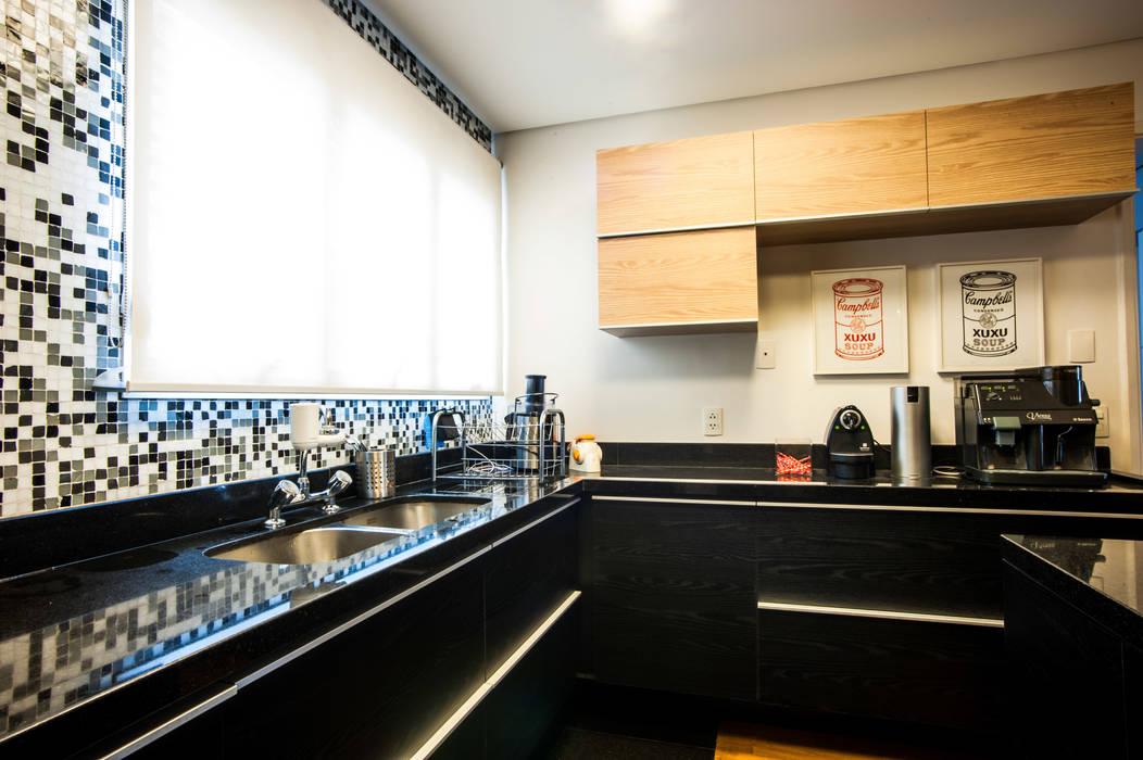 Casa 2 Arquitetos 現代廚房設計點子、靈感&圖片