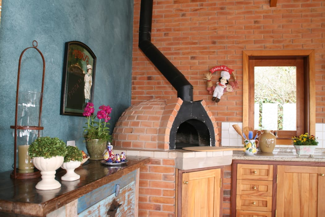 Liliana Zenaro Interiores Rustikale Küchen