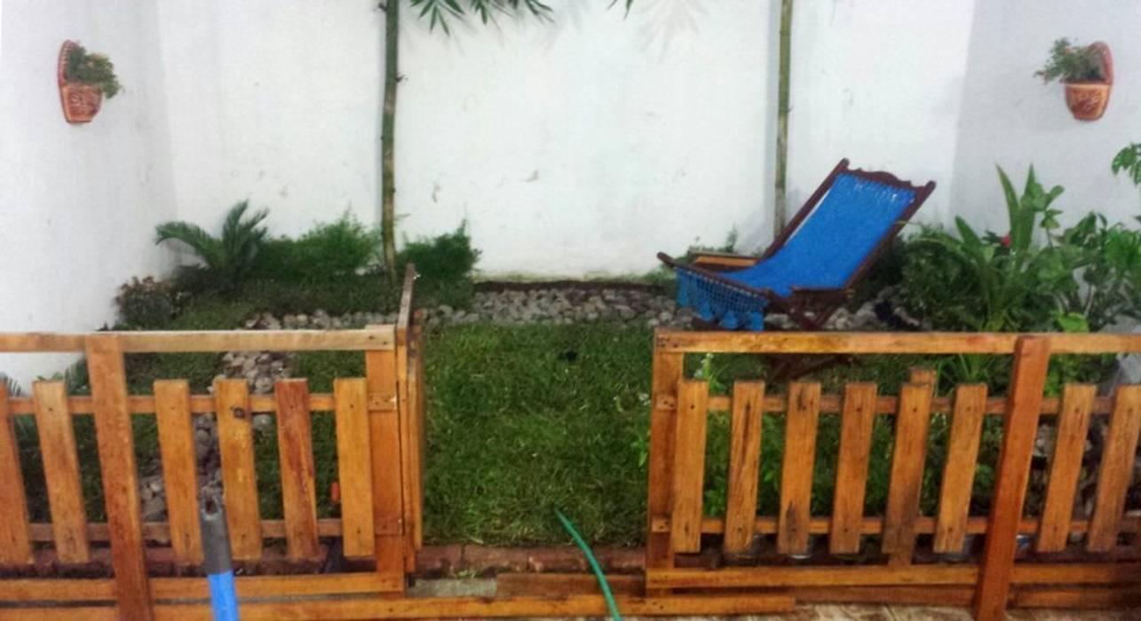 jardín muy pequeño - patio trasero - 13 m2 de Zen Ambient