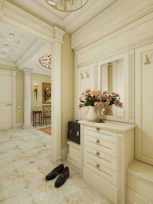 Ruang Keluarga Klasik Oleh Архитектурное Бюро 'Капитель' Klasik