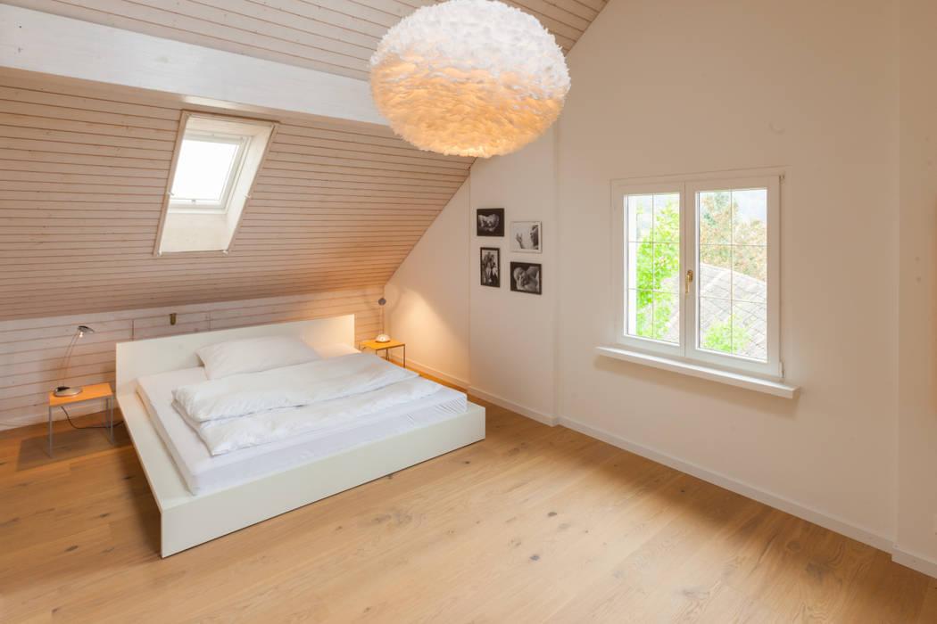 Schlafzimmer Dachgeschoss Schlafzimmer Von Von Mann Architektur