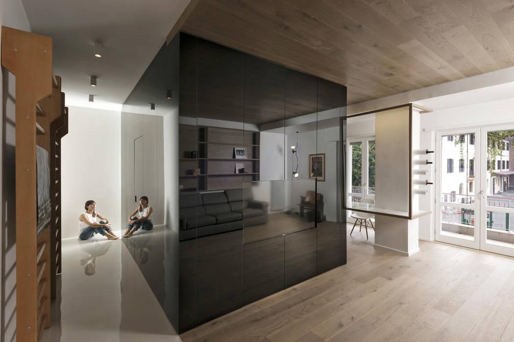 Wohnzimmer von Mohamed Keilani Architect, Minimalistisch