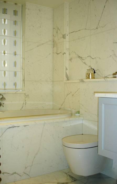 Appartement art deco paris : salle de bains de style par ...