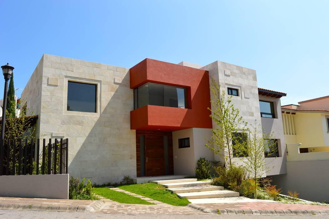 Fachada principal Revah Arqs Casas modernas
