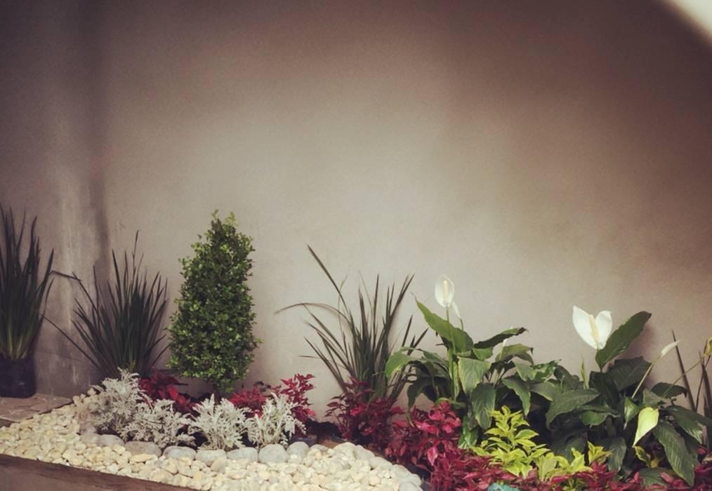 Vườn phong cách hiện đại bởi Arquitectos I + A Hiện đại