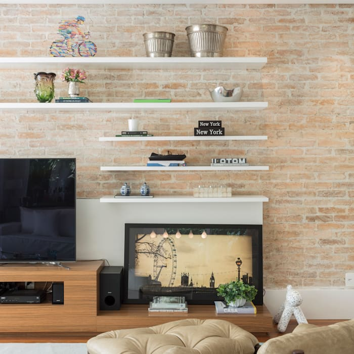 Modern living room by Boutique Arquitetura Modern