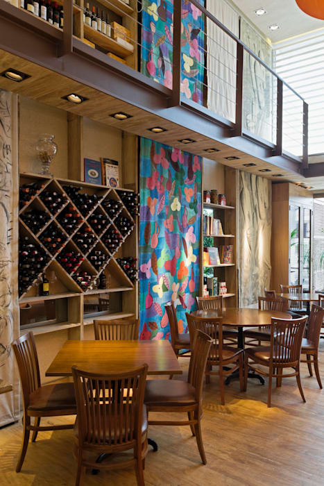 Denise Barretto Arquitetura Modern bars & clubs