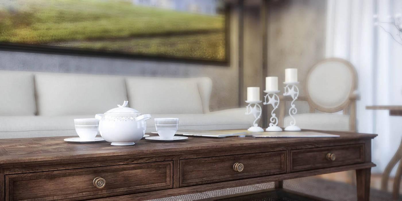 Özgün Salon Tasarımı (Living Room) Klasik Oturma Odası Ali İhsan Değirmenci Creative Workshop Klasik