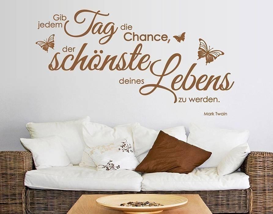 Wandtattoo gib jedem tag die chance: wintergarten von klebefieber.de ...