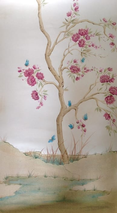 Sample created for NW3 Interiors: asian  by Eades Bespoke, Asian