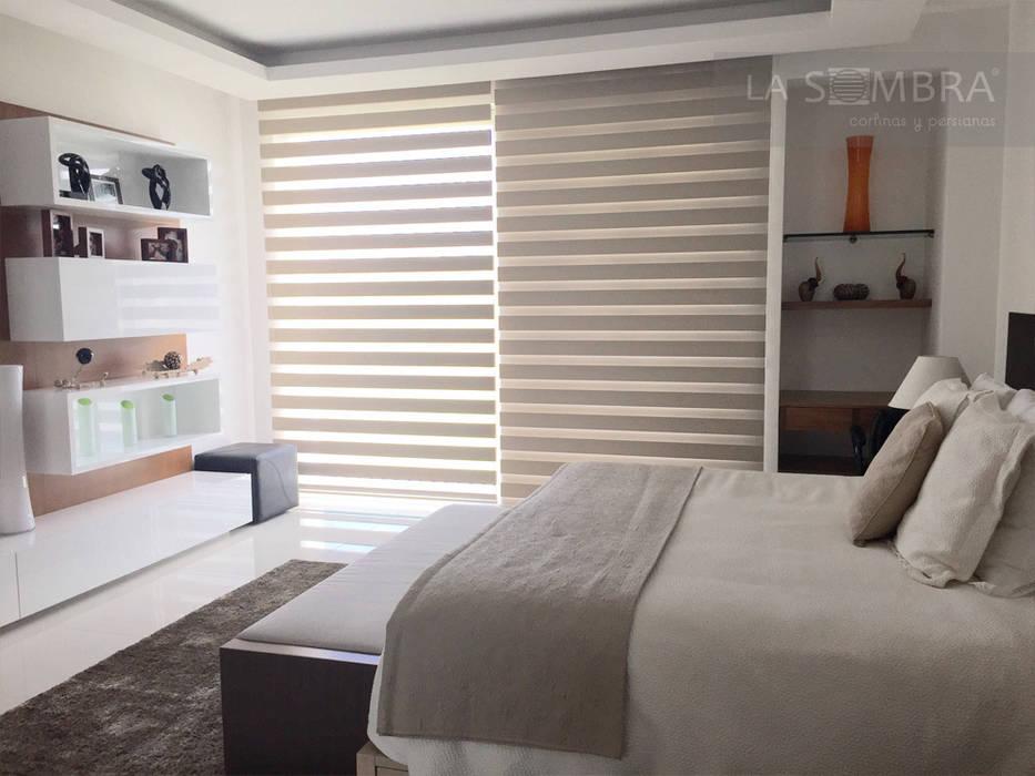 Cortina Celebrity Dormitorios clásicos de Persianas La Sombra Clásico