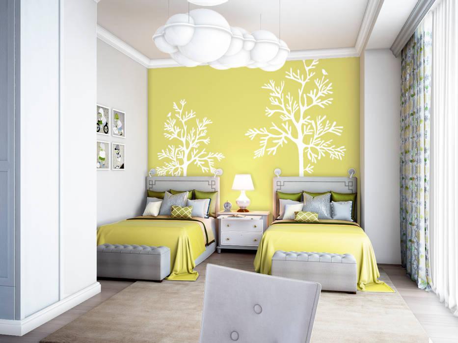 Дом Millennium-park, 420 м² Детские комната в эклектичном стиле от Bronx Эклектичный