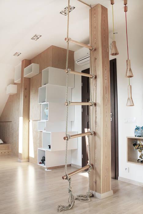 Dormitorios infantiles de estilo moderno de COI Pracownia Architektury Wnętrz Moderno