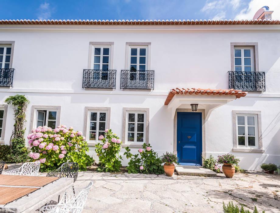 Renovação de Quinta em Sintra: Casas  por shfa,Clássico