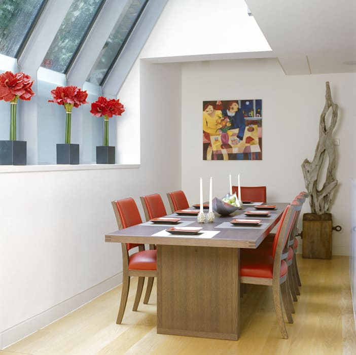 Dining Area Space Alchemy Ltd Modern dining room