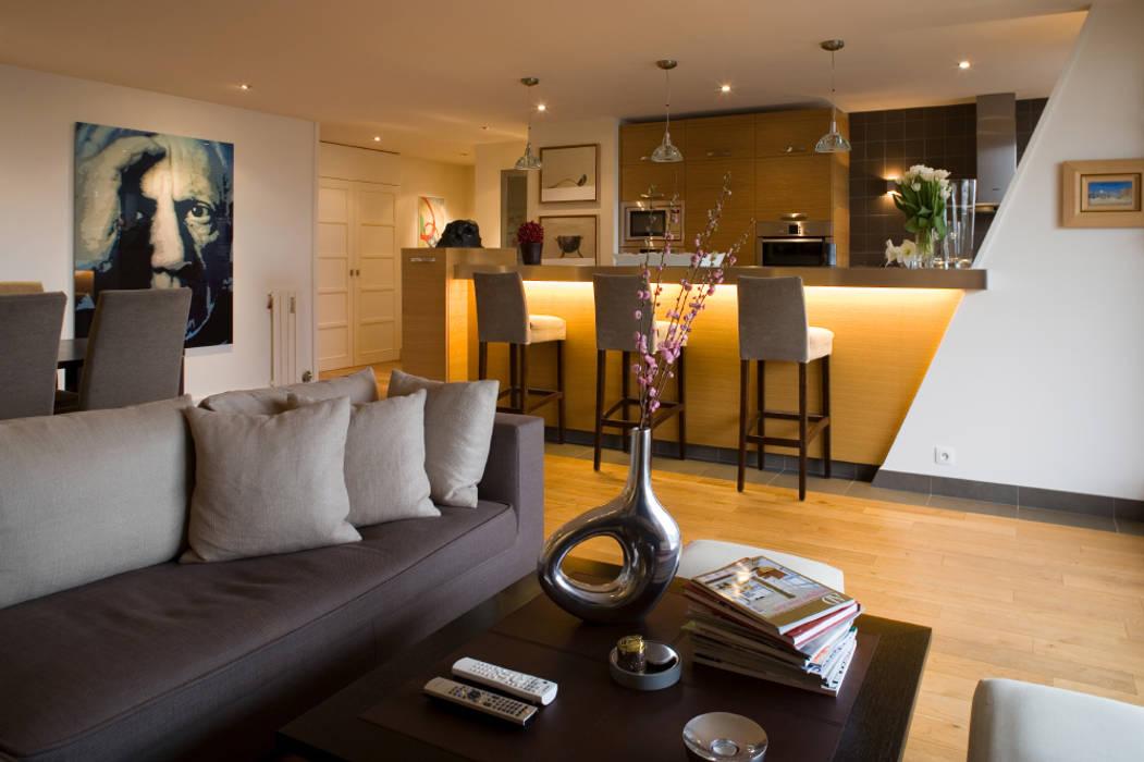 Séjour Salon moderne par AD9 Agencement Moderne