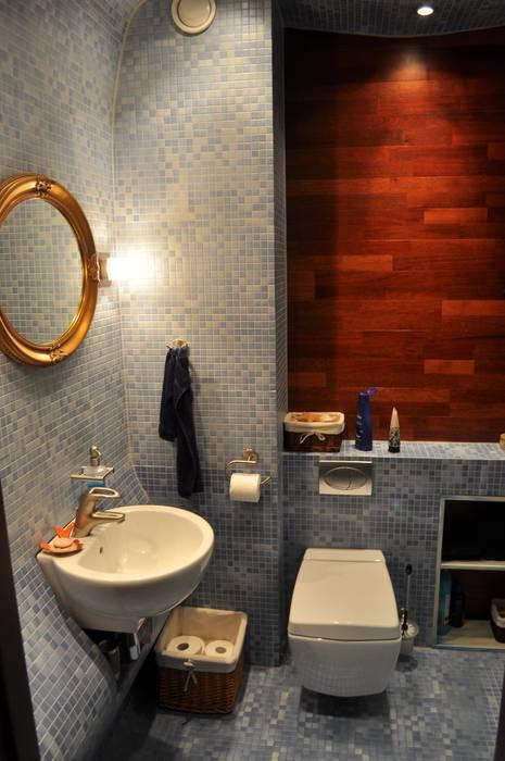 ŁAZIENKA 1 Nowoczesna łazienka od CHOŁUJ DESIGN s.c. Nowoczesny