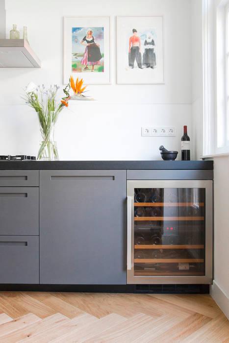 Maatwerk keuken:  Keuken door Hoope Plevier Architecten, Modern