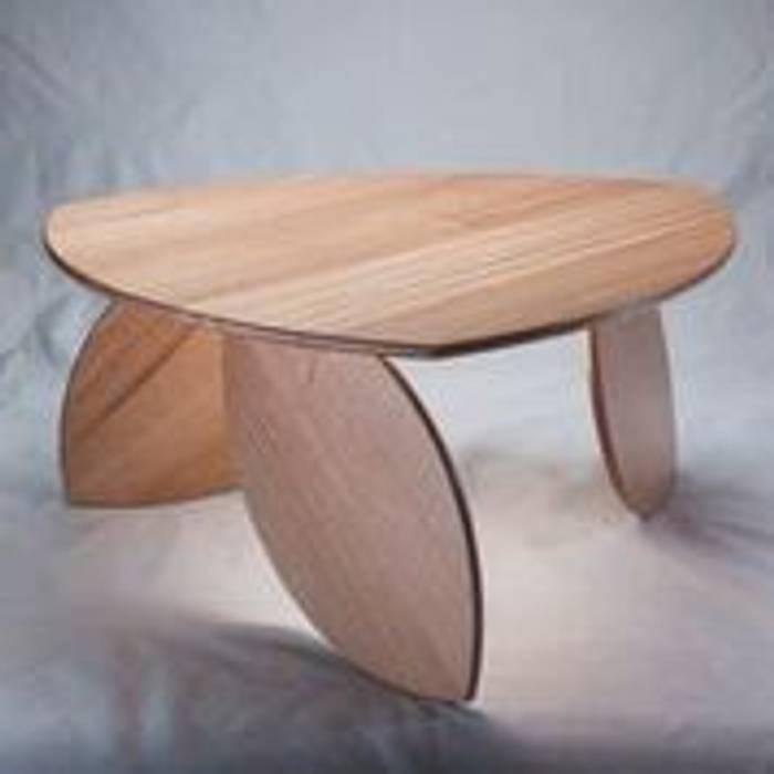 Leaning Leaf Table. Duncan Meerding 客廳邊桌與托盤