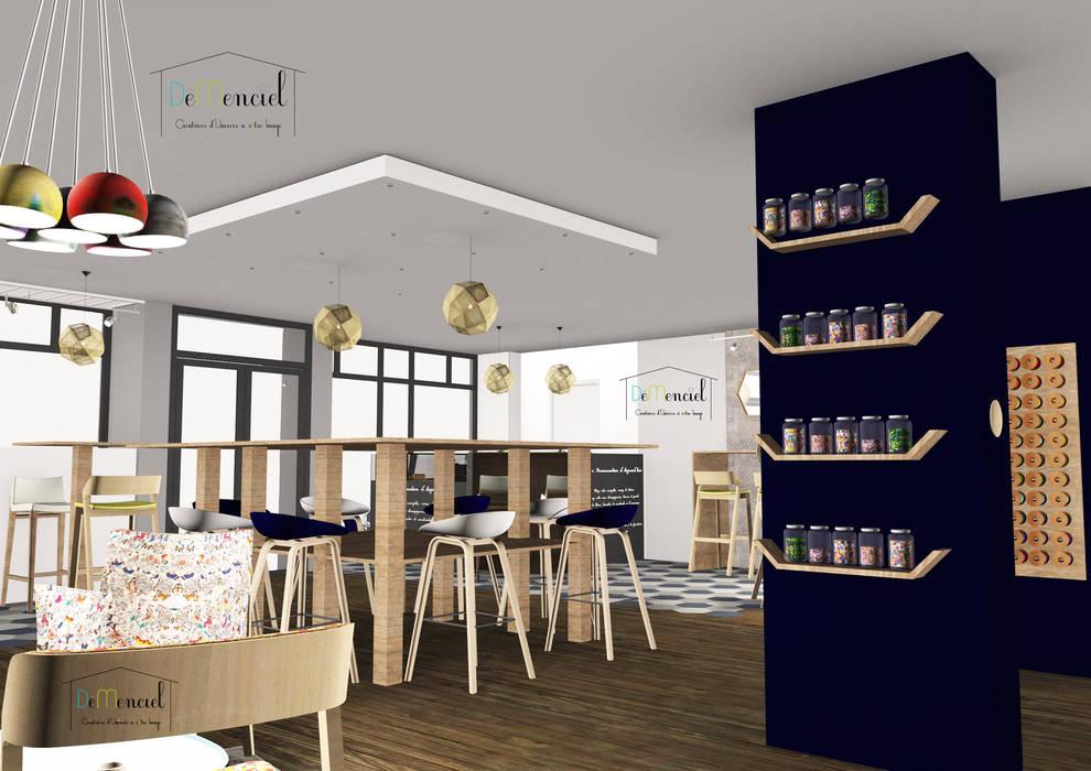 Intérieur - espace mercerie et création: Bars & clubs de style  par Démenciel