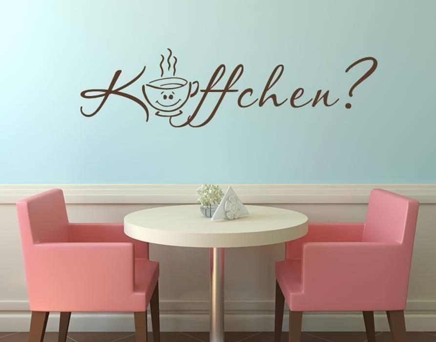 Wandtattoo käffchen?: küche von klebefieber.de - apalis gmbh | homify