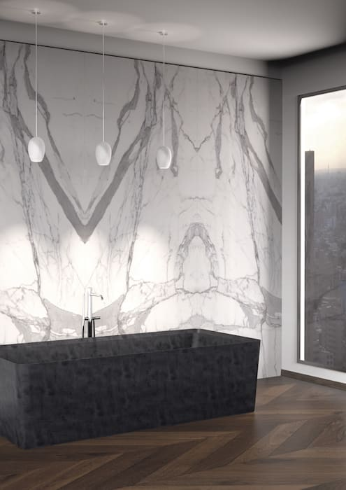 CONO Bath | Entity Bathroom Collection di Marmi Serafini Moderno