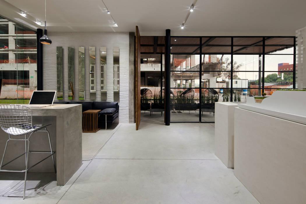 Salones de estilo  de Taller David Dana, Moderno