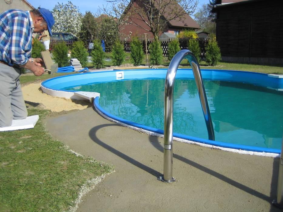 สระว่ายน้ำ โดย Future Pool GmbH, โมเดิร์น